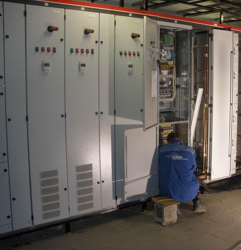 Электромонтаж преобразователей частоты