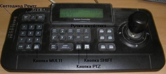 Пульт управления видеорегистраторами Artnix