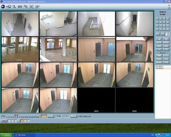 Изображение видеокамер с видеорегистратора