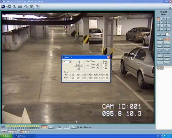 Управление купольными камерами