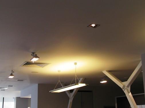 монтаж светильников подвесных