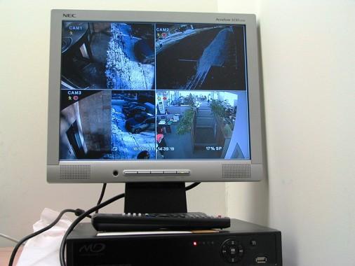 настройка камер и видерегистратора