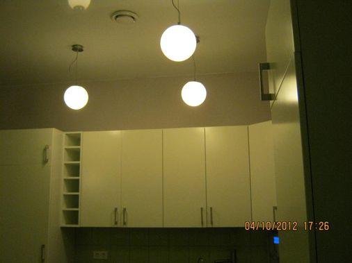 установка и монтаж светильников