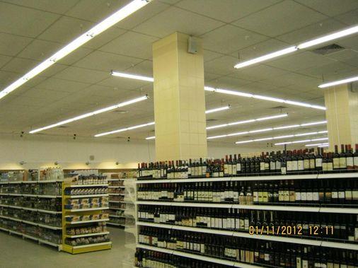 монтаж подвесных каркасных люминесцентных светильников