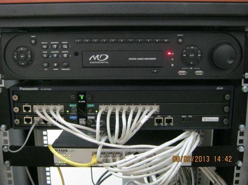 монтаж мини АТС и оборудования локальной сети