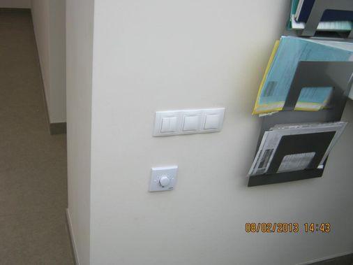 монтаж выключателей